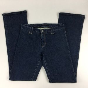 Theory Jeans Sz 6 Stretch Ultra Low Rise Boot Cut